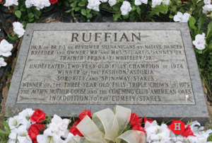 Ruffian's Final Resting Place at Belmont Park