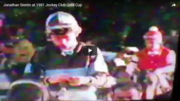 Jonathan Stettin 1981 Jockey Club Gold Cup